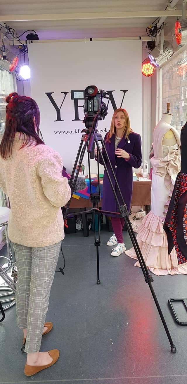 Toni carver interview that's tv York for York fashion week