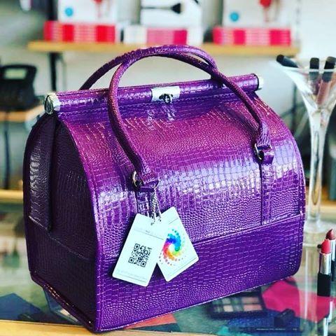 Purple cmb at home bag