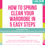 How to spring clean your wardrobe in five easy steps download