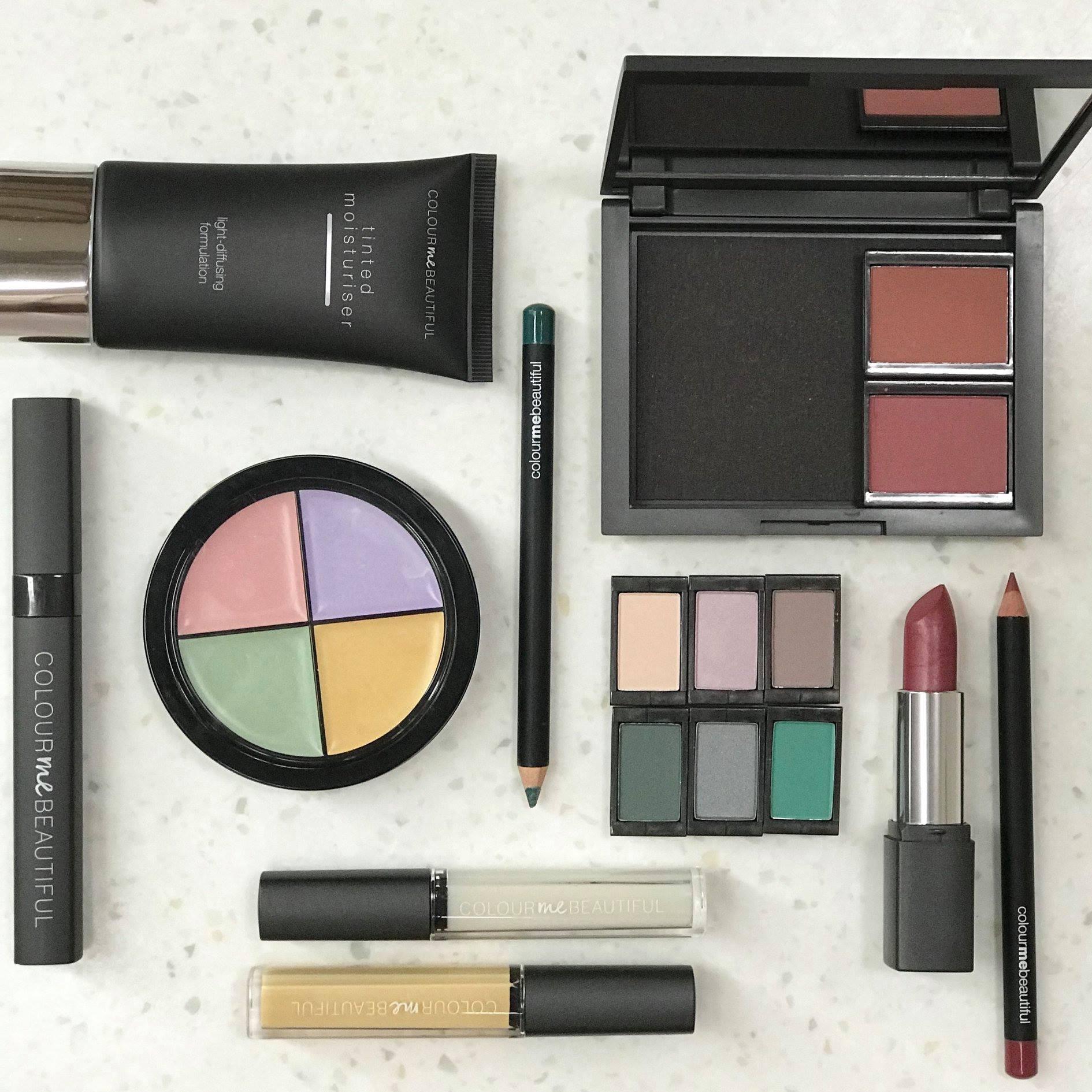 Colour me beautiful cosmetic range