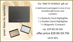 Time to sparkle offer