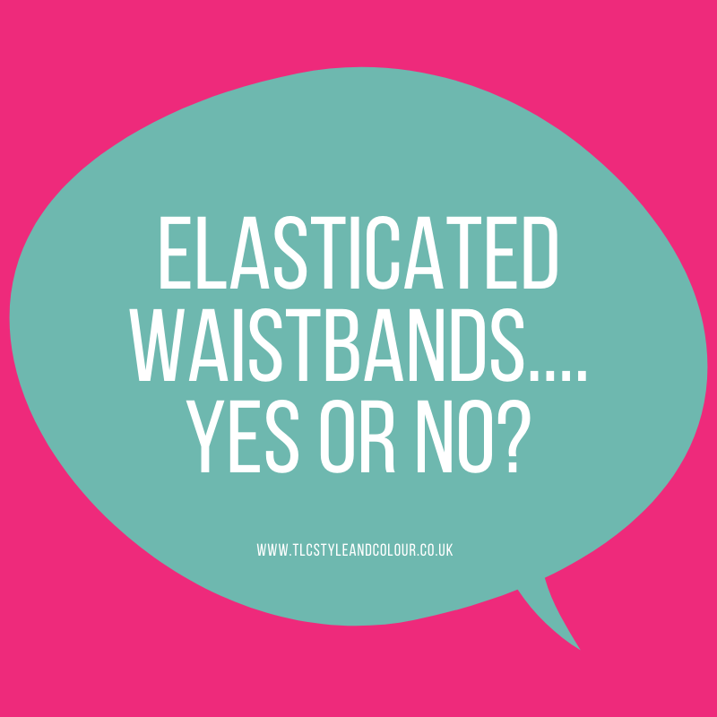 Elastic and waistbands