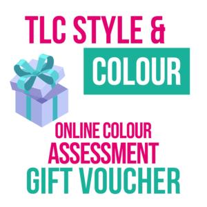 Online Colour Assessment Gift Voucher