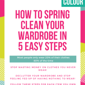 Declutter your wardrobe guide